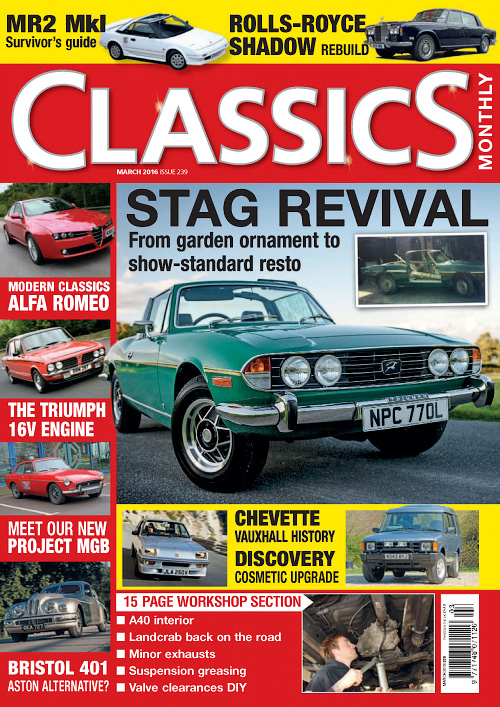 Classics Monthly - March 2016