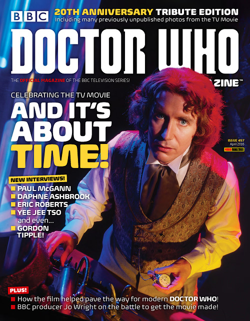 Doctor Who Magazine - April 2016