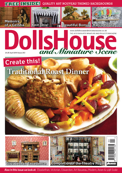 Dolls House and Miniature Scene - April 2016