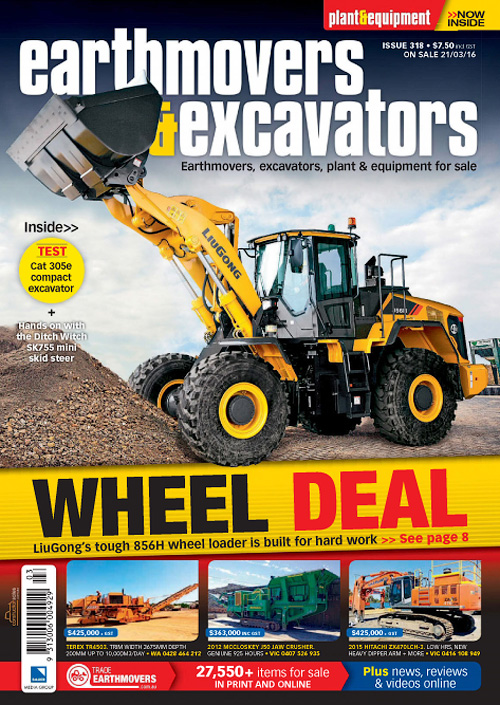 Earthmovers & Excavators - Issue 318, 2016