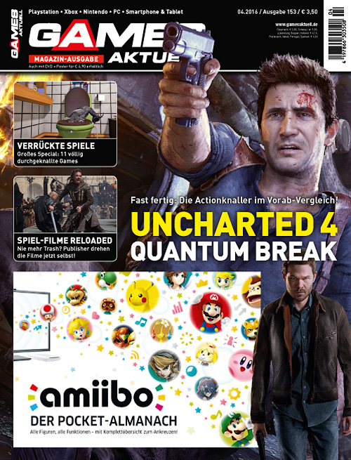Games Aktuell Magazin - April 2016