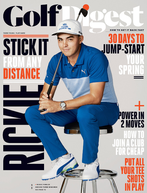 Golf Digest - April 2016