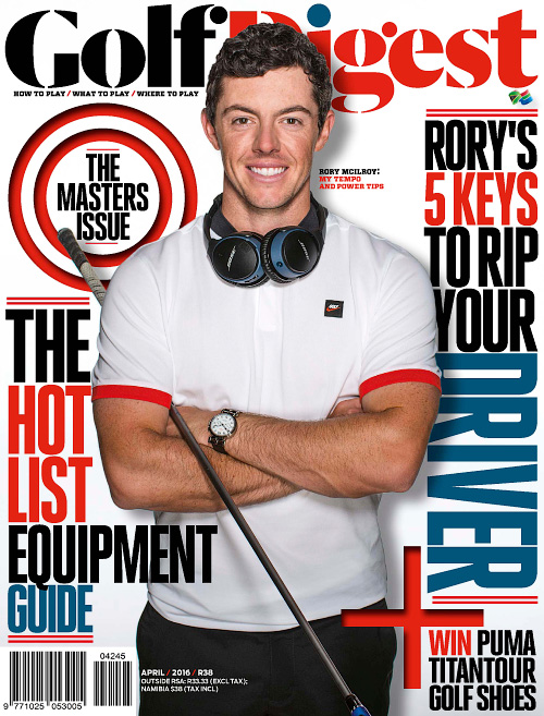 Golf Digest South Africa - April 2016