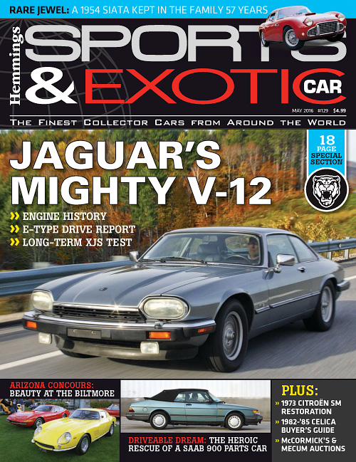 Hemmings Sports & Exotic Car - May 2016