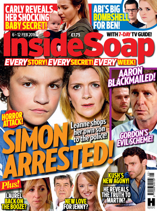 Inside soap 26 march 2016 187 free pdf magazines for ipad iphone