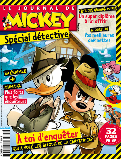 Le Journal de Mickey - 2 au 8 Mars 2016
