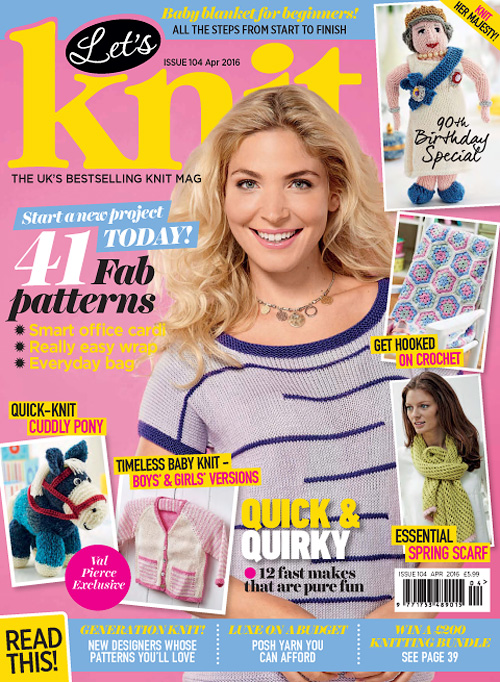 Let's Knit - April 2016