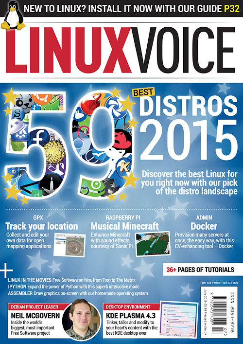 Linux Voice - July 2015