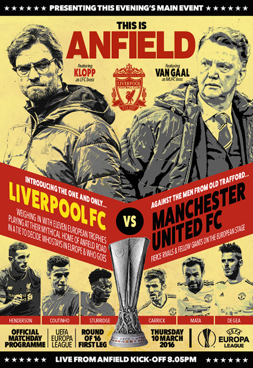 Liverpool FC vs Manchester United FC - 10 March 2016