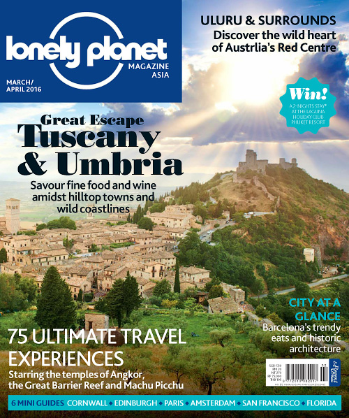 Lonely Planet Asia - March/April 2016