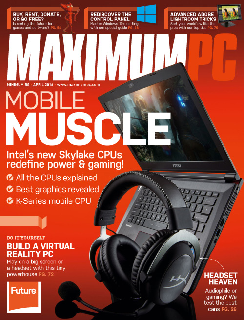Maximum PC - April 2016