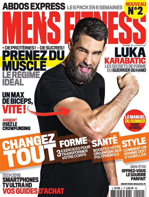 Men's Fitness France - Avril 2016