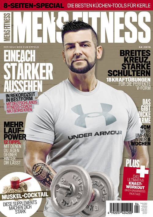 Men's Fitness Germany - April 2016
