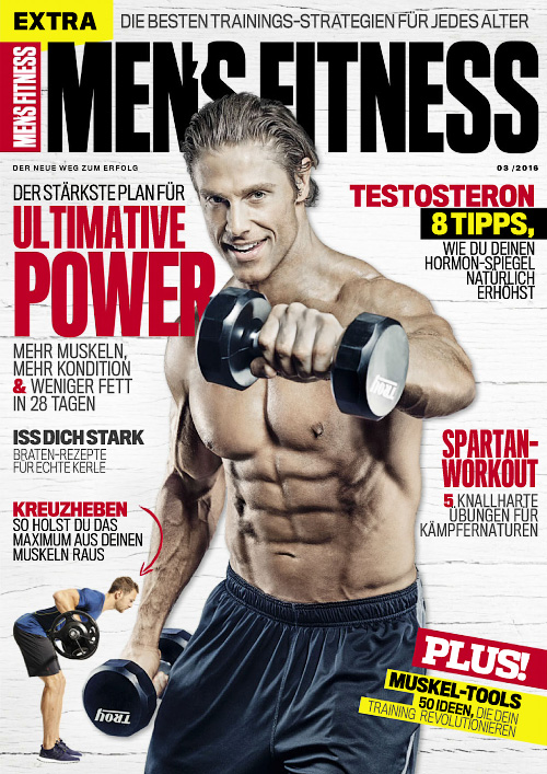 Men's Fitness Germany - Marz 2016