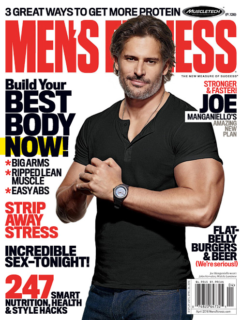 Men's Fitness USA - April 2016