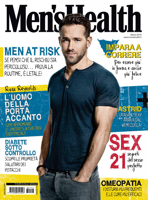 Men's Health Italia - Marzo 2016