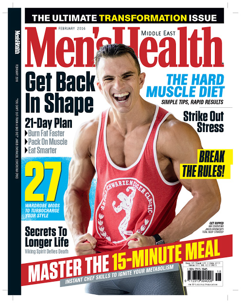 Men's Health Middle East - February 2016
