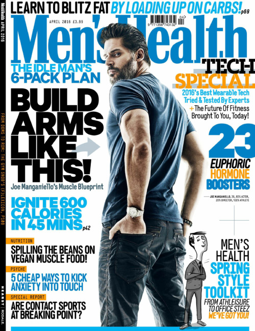 Men's Health UK - April 2016
