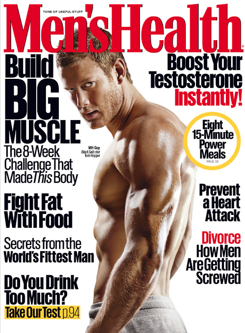 Men's Health USA - April 2016