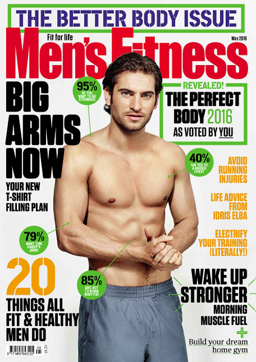 Men's Fitness UK - May 2016