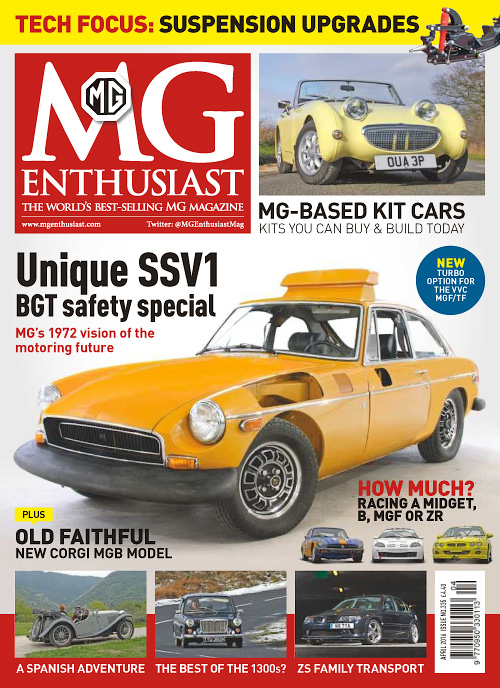 MG Enthusiast - April 2016
