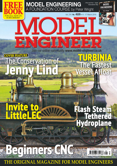 Model Engineer - 4-17 March 2016