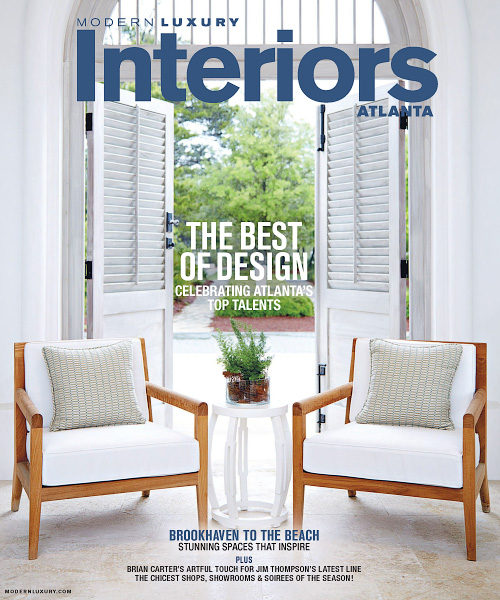 Modern Luxury Interiors Atlanta - Winter/Spring 2016