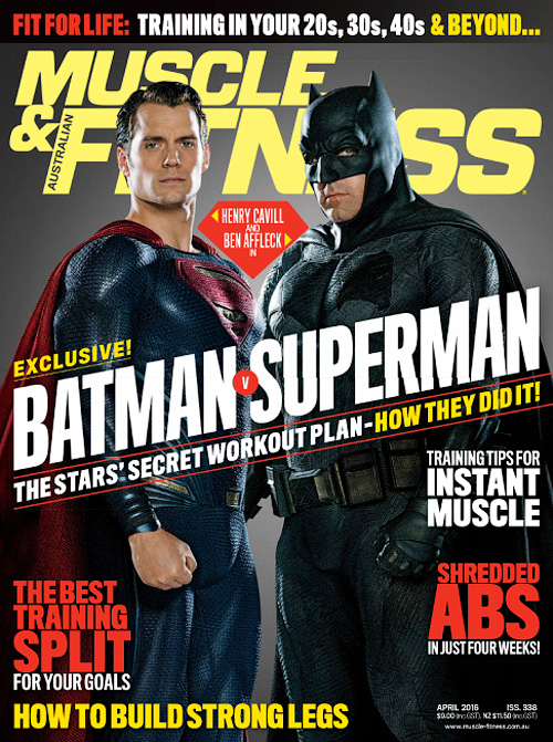 Muscle & Fitness Australia - April 2016