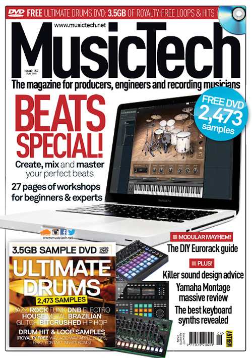 MusicTech - April 2016