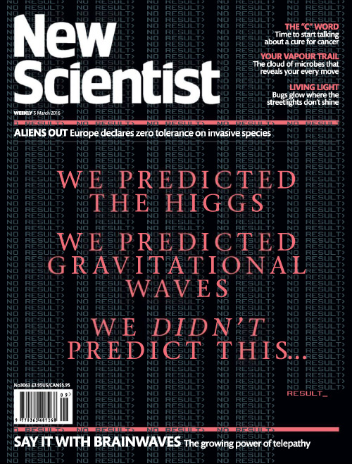 New Scientist - 5 March 2016