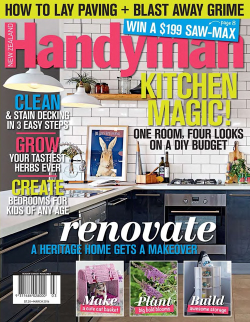 New Zealand Handyman - March 2016