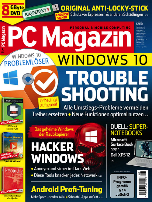 PC Magazin - Mai 2016