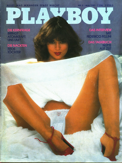 Playboy Germany - May 1981