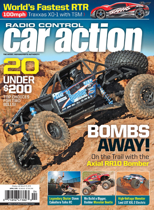Radio Control Car Action - April 2016