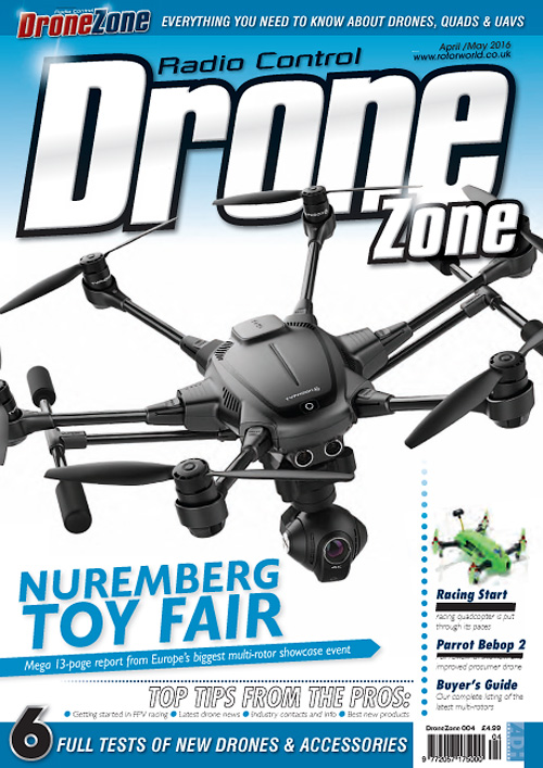 Radio Control Drone Zone - April/May 2016