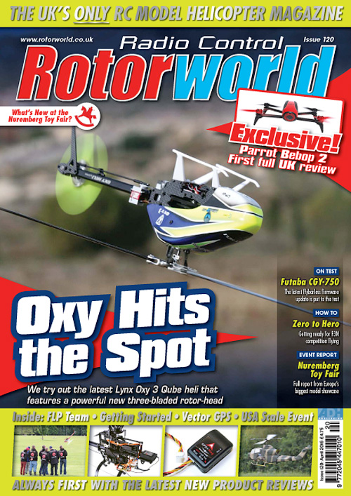 Radio Control Rotor World - April 2016