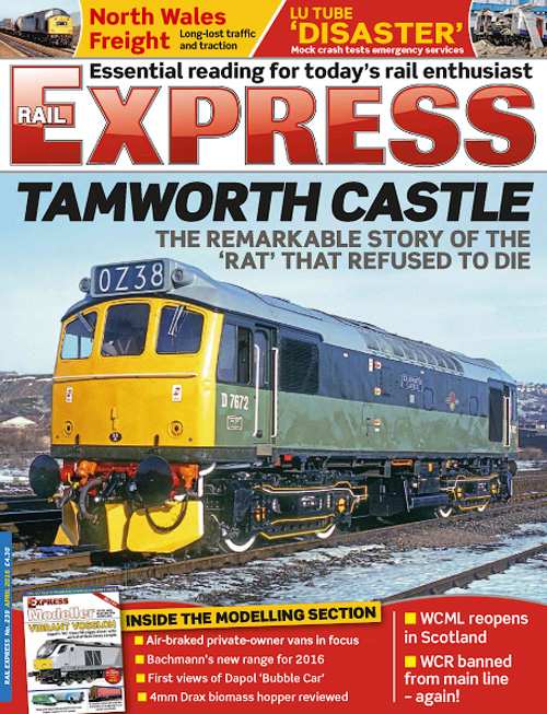 Rail Express - April 2016