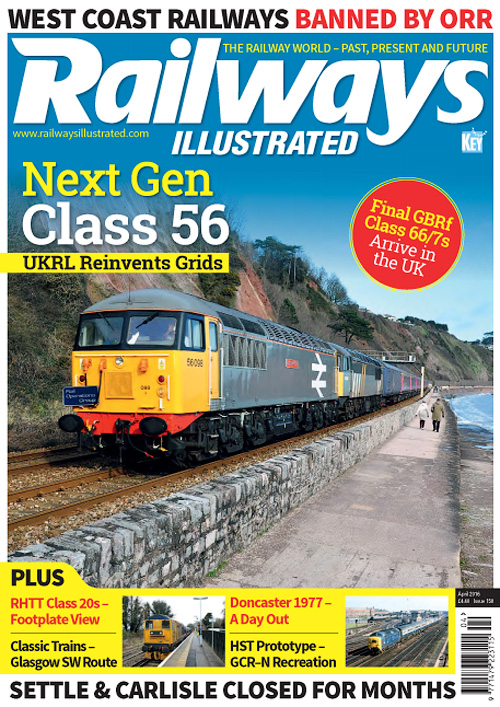 Railways Illustrated - April 2016