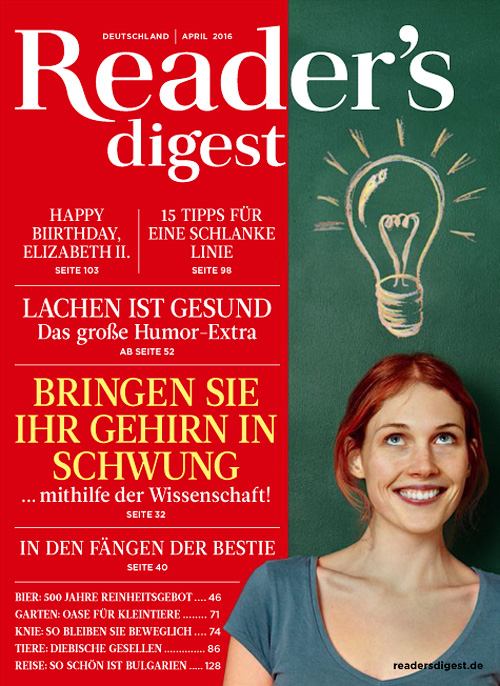 Reader's Digest Germany - April 2016