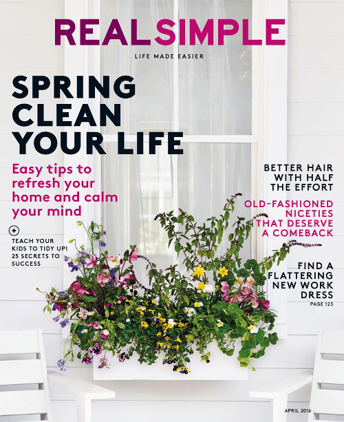 Real Simple - April 2016