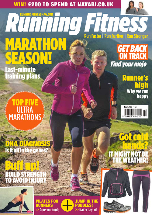 Running Fitness - March 2016