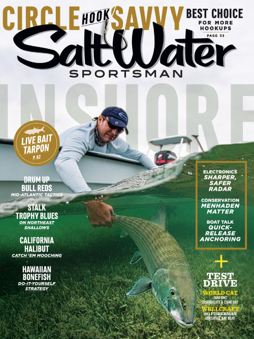 Salt Water Sportsman - April 2016