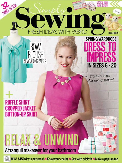 Simply Sewing - Issue 15, 2016