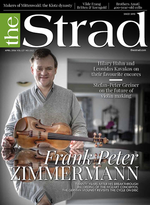 The Strad - April 2016