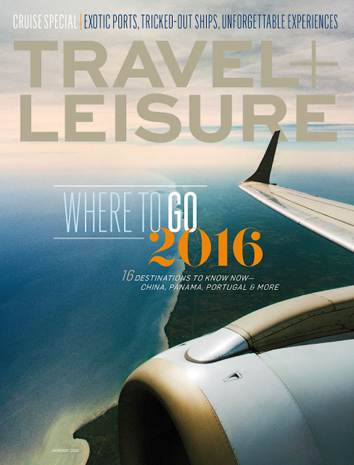 Travel+Leisure USA - January 2016