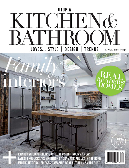 Designer Kitchen U0026 Bathroom February 2016 Free PDF Magazines Part 41