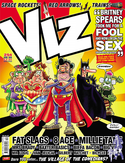 Viz UK - April 2016