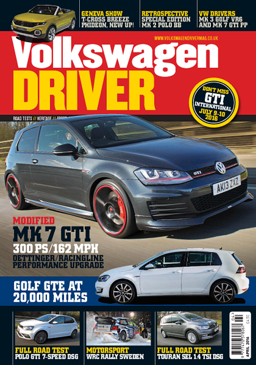 Volkswagen Driver - April 2016