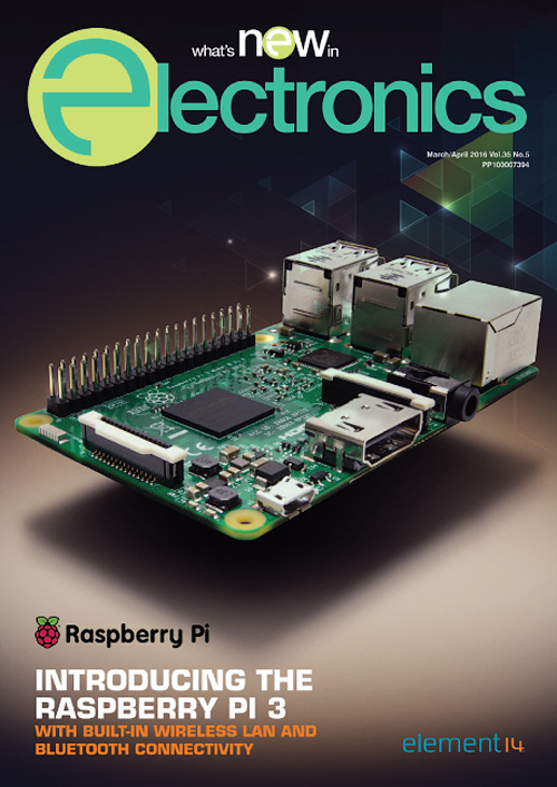 What's New in Electronics - March/April 2016