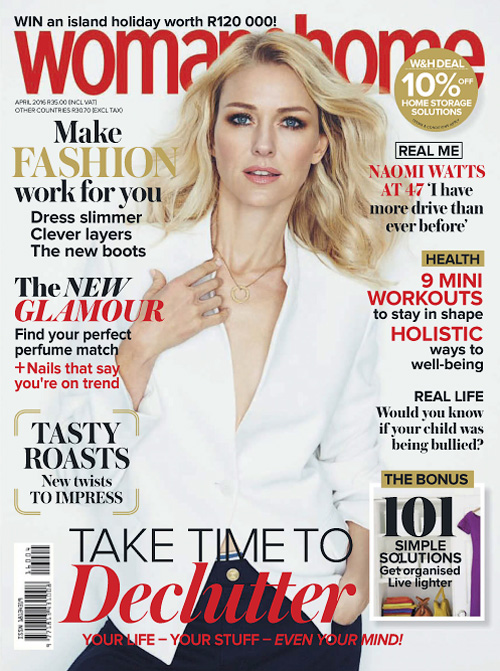 Woman & Home South Africa - April 2016